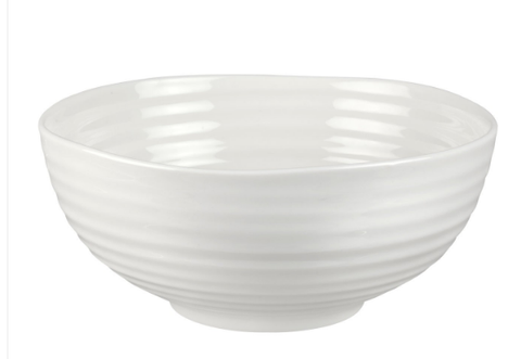 Noodle Bowl, White