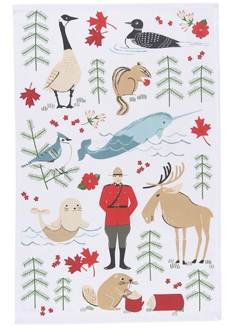 True North Teatowel