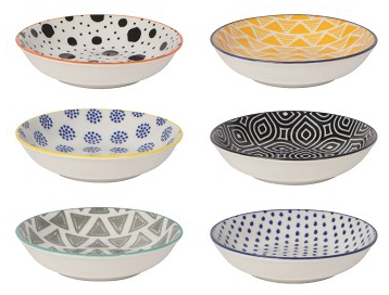 Pinch Bowls, Bits and Dots