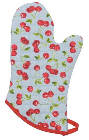 Oven Mitt, Cherries