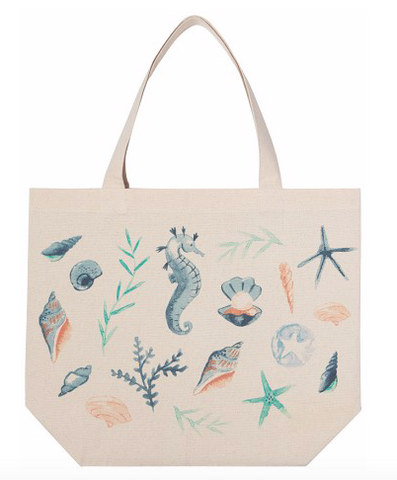 Tote Bag, Coastal Treasures