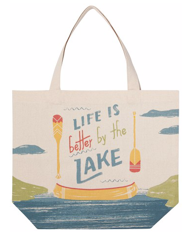 Tote Bag, Lake Life