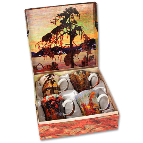 McIntosh Set of 4 Mugs - Tom Thomson
