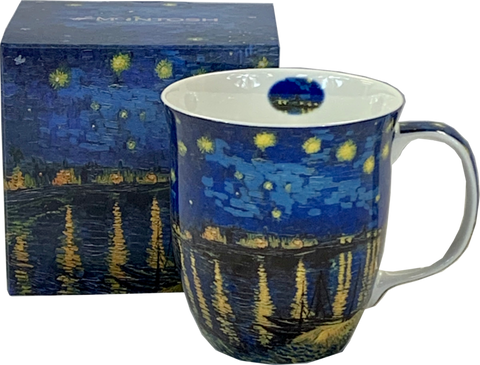 McIntosh Java Mugs - Vincent Van Gogh, Starry Night Rhone