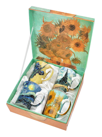 McIntosh Set of 4 Mugs - Vincent van Gogh