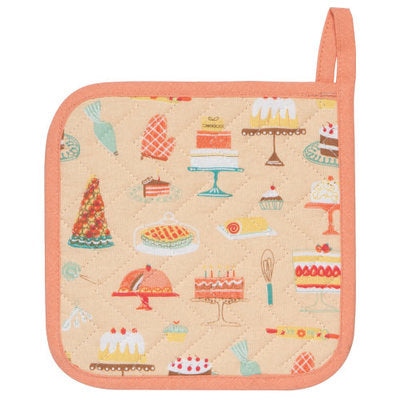 Potholder, Cake Walk