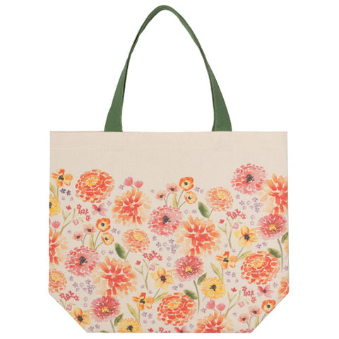 Tote Bag, Cottage Floral