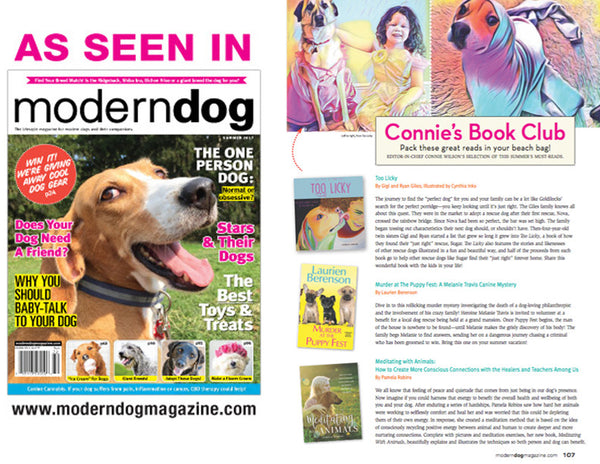 Meditating with Animals in Summer 2017 Modern Dog Magazine