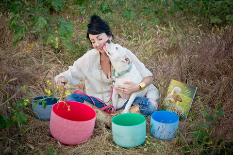 Meditating with Animals Los Angeles Sound Bath and Meditation with your Animal