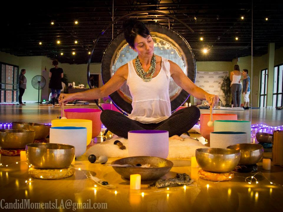 90 Minute Private Sound Bath + Healing Session