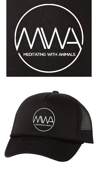 Trucker Cap - Meditating with Animals