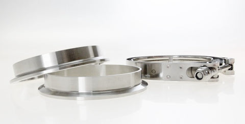 V-Band Clamp Set Stainless Steel (self aligning)