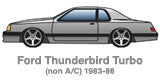 Advanced Turbo System for Ford Thunderbird Turbo Coupe