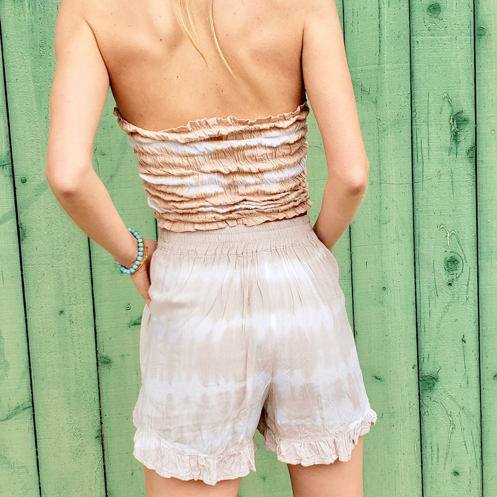 Ruffle Bottom Shorts