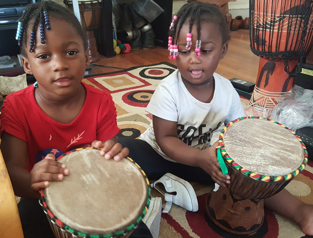 Drumming with Kids