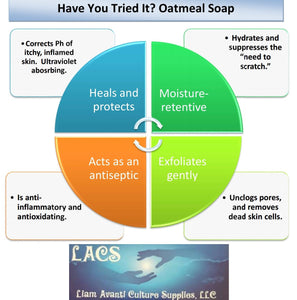 Cure Itch And Irritation With Oatmeal Soap