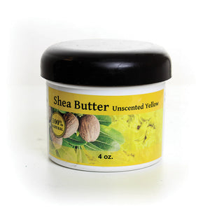 100% Pure Shea Butter: 4 oz. - LACS