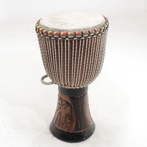 "D'Jembe Drum Full Size 23"" tall 13"" diameter - LACS"