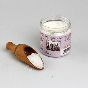 Dead Sea Bath Salt: Lavender - 4 oz. - LACS
