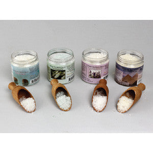 Set Of 4 Scented Dead Sea Bath Salts - 4 oz. - LACS