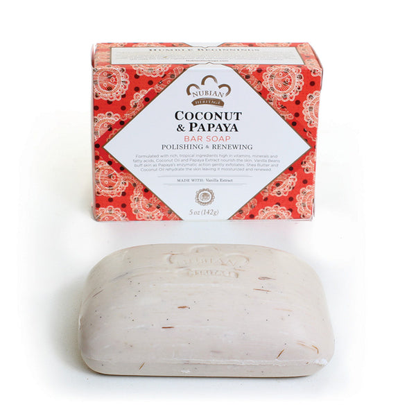 Coconut and Papaya Bar Soap - LACS