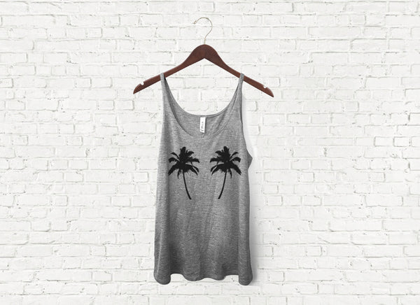 Palm Trees - Slouch Tank