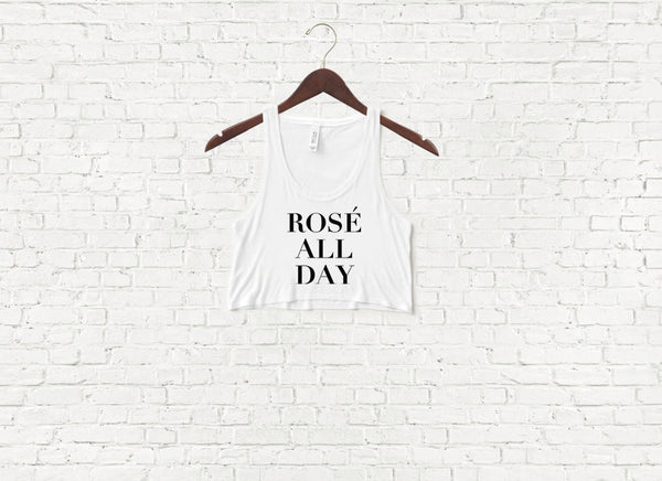 Rose All Day - Crop Top