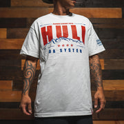 HULI THE SYSTEM white t shirt