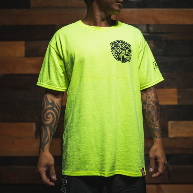 OG AKUA Hi Viz essential POCKET T Shirt