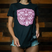 LADIES OG AKUA Black and Pink boyfriend tee