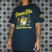 ILIMA PINEAPPLE PRINCESS dark navy tee