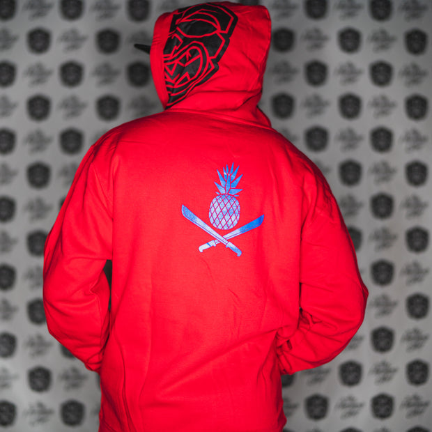 3.0 AKUA RED pullover hoodie