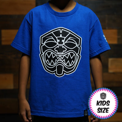 Kids OG AKUA Royal Blue tee