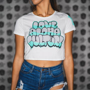 Ladies DOOBYDELICIOUS White crop top
