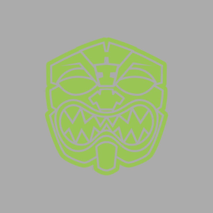 OG AKUA LIME GREEN Decal Sticker - Farmers Market Hawaii
