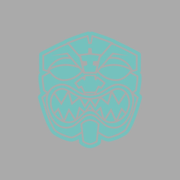 OG AKUA TEAL Decal Sticker - Farmers Market Hawaii