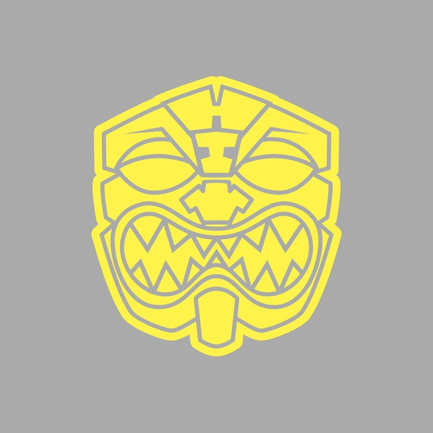 OG AKUA YELLOW Decal Sticker - Farmers Market Hawaii