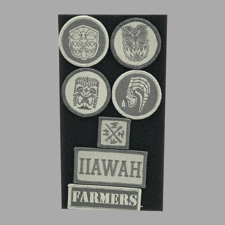 7pc. MIXED AKUA PATCH SET - Farmers Market Hawaii