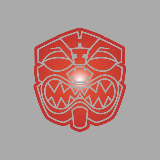 OG RED CHROME Decal Sticker - Farmers Market Hawaii