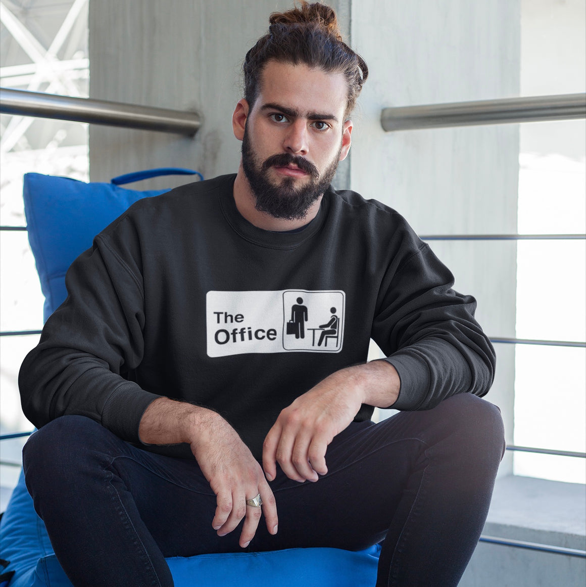 The Office Sign Logo Crewneck