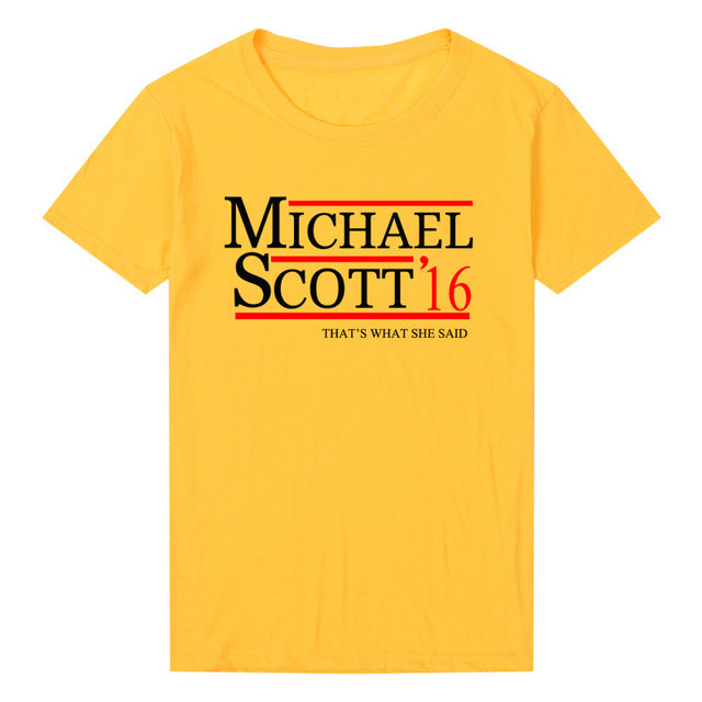Michael Scott Presidential Tee