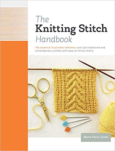 The Knitting Stitch Handbook - Knotty Lamb Yarn Shop
