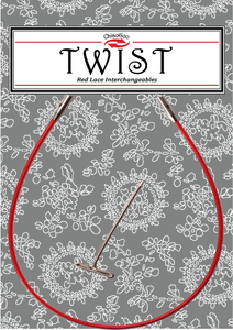 Twist IC Red Cables - Large (L) - Knotty Lamb Yarn Shop