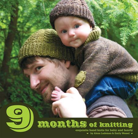 9 Months of Knitting - Knotty Lamb