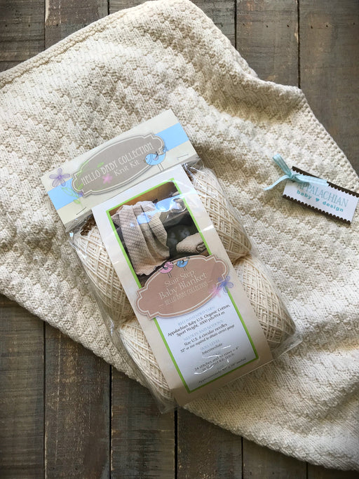 Stair Step Baby Blanket Kit - Knotty Lamb Yarn Shop