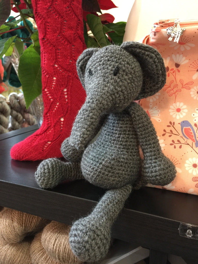 TOFT Amigurumi Animals Workshop - Wednesdays April 12 & 26, 6:00-8:00pm - Knotty Lamb Yarn Shop