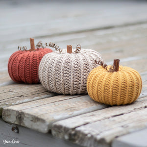 Crochet Rustic Pumpkin - Thursday, October 24, 4-6pm