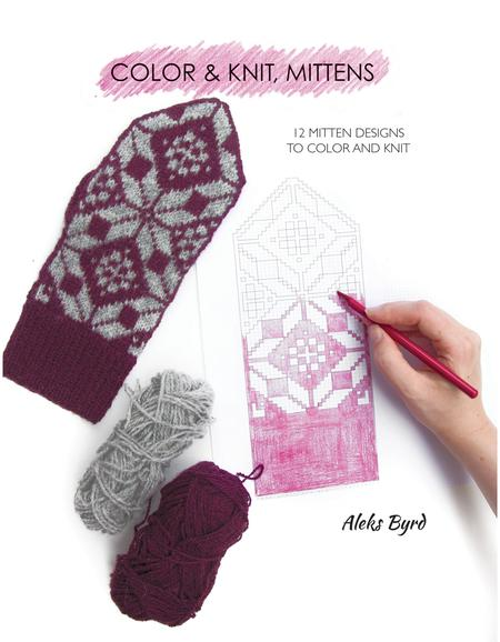 Color & Knit Mittens - Knotty Lamb