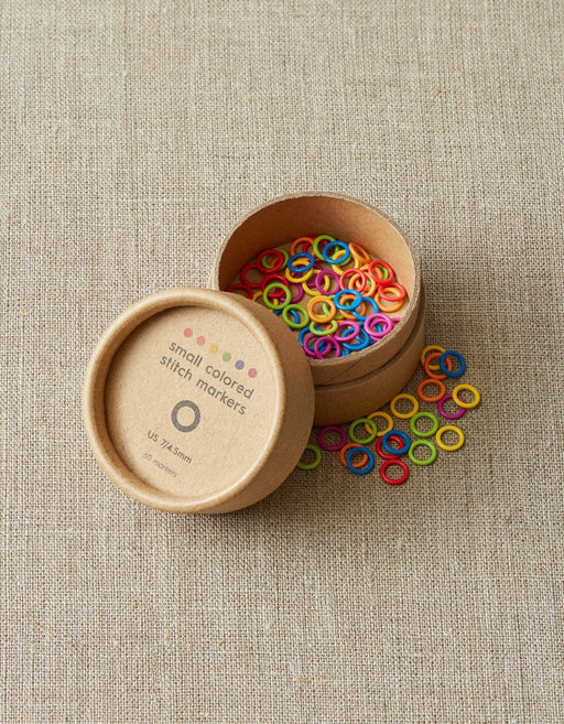 Colored Ring Stitch Markers- Small - Knotty Lamb
