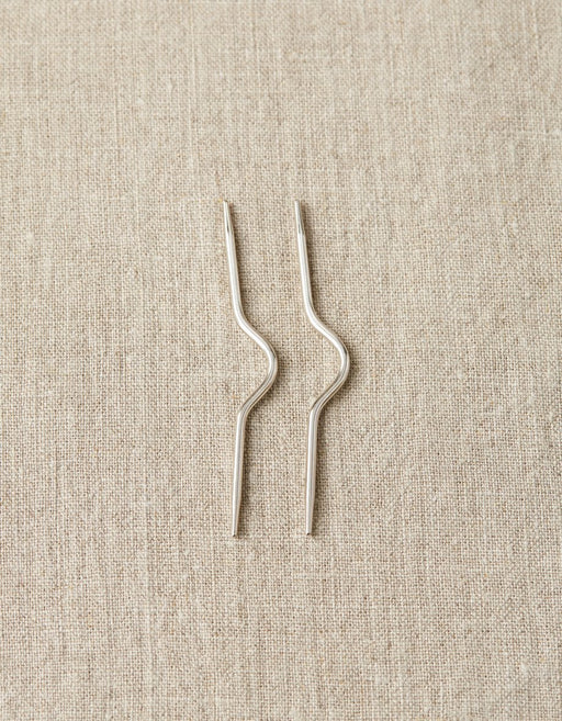 Curved Cable Needles - Knotty Lamb